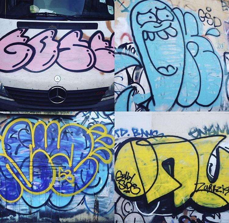 East London grafitti pic